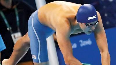 沈威胜在里约的玛莉亚·林柯水上中心完成首次奥运登场。