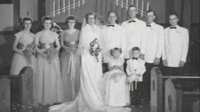 鹣鲽情深的德朗热夫妇结婚已63年。