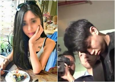 出身富裕的萧女(左)拒绝从网上结识的赖男(右)追求,却惹来杀身之祸。