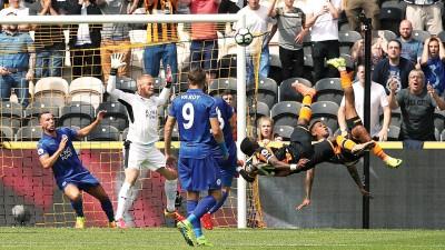 赫尔双将阿贝尔·埃尔南德斯和迪奥曼德各出一脚,打进了英超赛季首球。