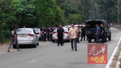 公安部调查死者身分。