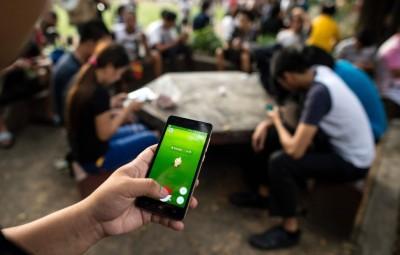 """手机游戏""""精灵宝可梦Go""""热潮已渐见退却。(法新社照片)"""