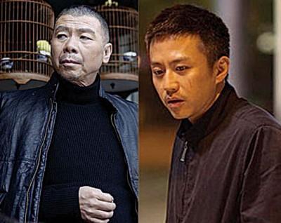 冯小刚与邓超。