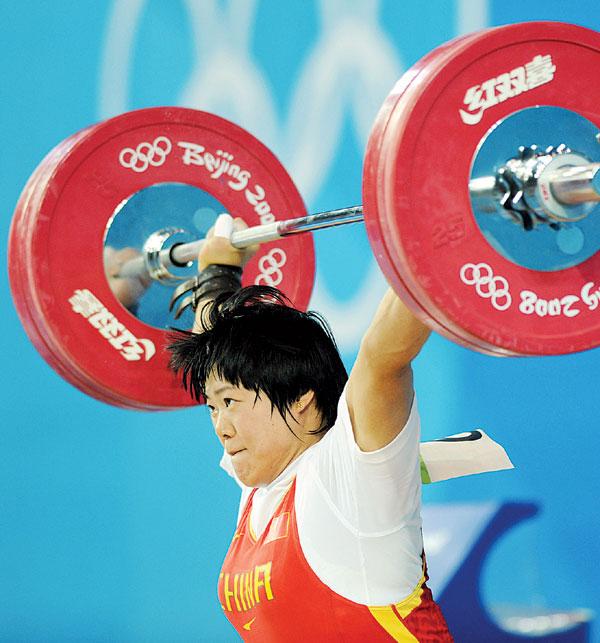 中国女子大力士陈燮霞传出药检呈阳性。