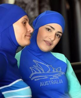 很多穆斯林妇女会穿布基尼。(法新社照片)