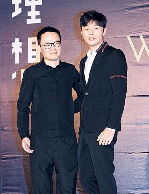 李荣浩(右)凡业主陈泽杉云续约最快的饰演者。