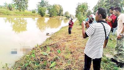 民众在亚娄淡汶都浪路的甘榜德鲁河惊见一具女浮尸。