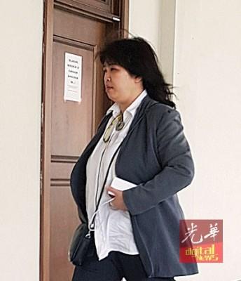 被告林丽宝出庭闻判。