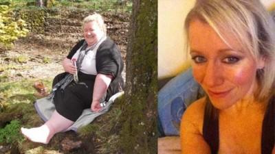 惠瑟姆2012年与丈夫结婚时,体重一度高达336磅。