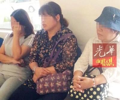 3称中国籍妇女过后吃带向警局作进一步调查 。