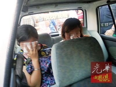 萧声案在同业协助下,成功追捕2女老千并交给警方查办。
