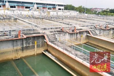 双溪赖水源过滤站将于本周六进行水管提升工程,数地将制水12个小时。