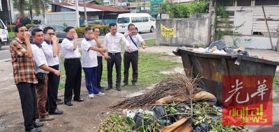 马青峇眼区团敦促市政局在现有垃圾桶站点增设分类槽。