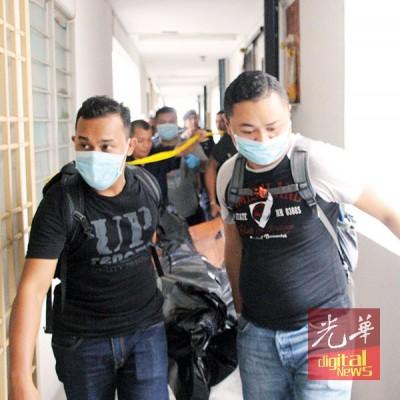 死者被运往槟城中央医院解剖。