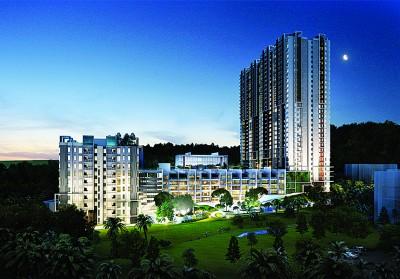 由马星集团荣誉呈献的最新发展项目~Ferringhi Residence 2 豪华度假式公寓即将正式推介。