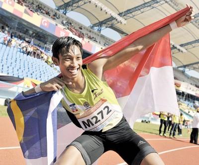 我国田径明日之星凯鲁哈菲兹,从现在开始将会努力奋斗,以实现进军2020年东京奥运会的美梦。
