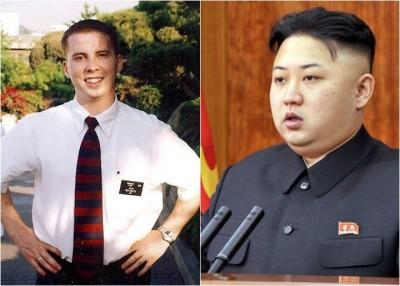 斯内登(左图)可能是金正恩(右图)的英文导师。