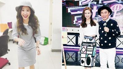 (左)Lulu,(右)吴宗宪与女儿Sandy。