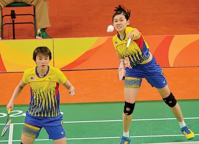 温可微/许嘉雯在韩国超级赛签表中将陆续对上韩日组合。