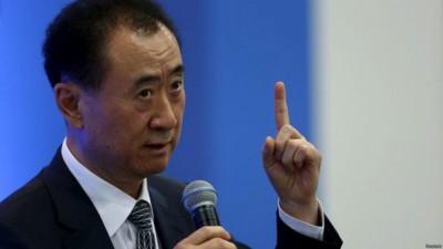 中国首富王健林。