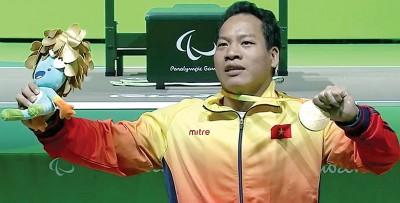 黎文功夺得越南史上首枚残奥金牌。