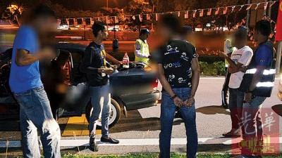 疑涉及毒品司机一律被扣查接受尿液检验。