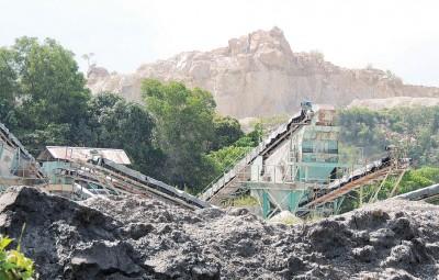 峇都加湾炸石厂。