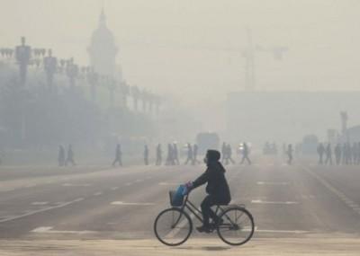 世卫告诉指中国最让空气污染影响,超越100万口很于室外污染。