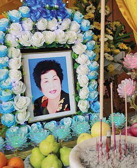 女死者刘莲娇将于明日举殡。