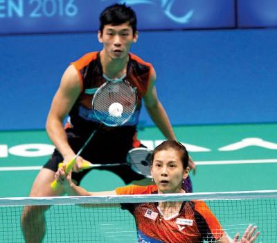 陈炳顺/吴柳萤将在次圈对抗金德映/金惠玲。
