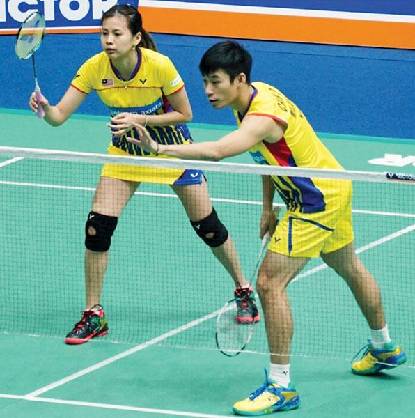 陈炳顺/吴柳萤完成至少8强的目标。