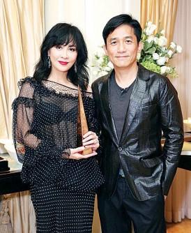 刘嘉玲和梁朝伟结婚8年,互相信任包容。