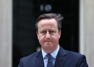 英国前首相卡麦隆周一辞任下议员。(资料图片)