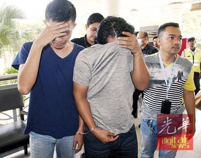 2称涉嫌伪造文件的陆路交通局人员为押上亚罗士从推事庭延扣7上。