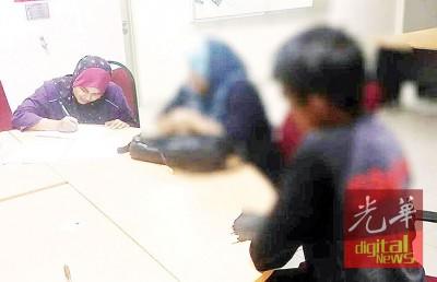 一对夫妻涉吸毒被官员押返调查。