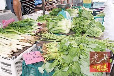 目前蔬菜供应良好。