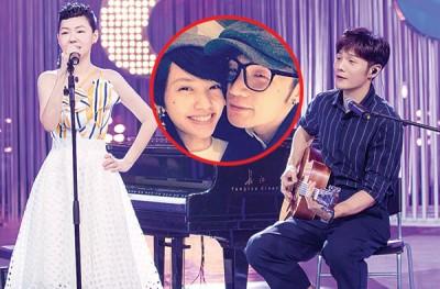 小S在《姐姐好饿》录影现场,不断询问李荣浩与杨丞琳的相处细节。