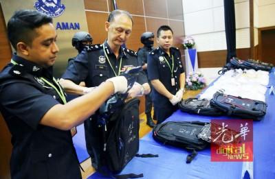 警署搜出160万令吉冰毒。