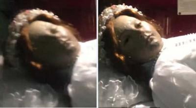 童尸吃人打到突然睁开眼。
