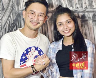 陈奕源将陪伴李佩玲到北京应战。