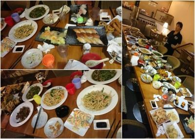 食客故意点了同样整席食物却无吃,导致深重浪费。