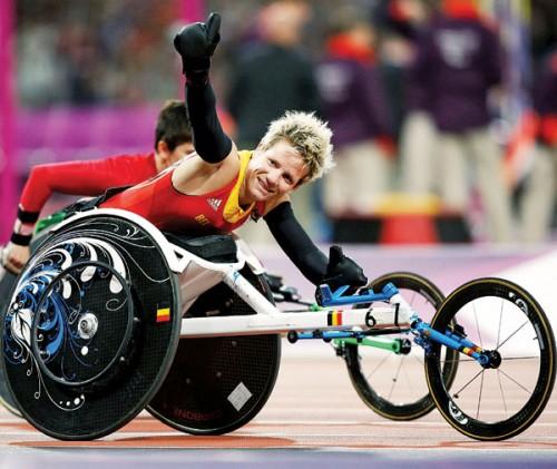 比利时女将玛丽克·福沃特将在里约残奥会轮椅短跑T52级400米决赛登场。