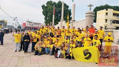 净选盟5.0大集会在双溪大年展开造势活动。