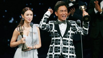吴宗宪捎女夺综艺主持人奖。