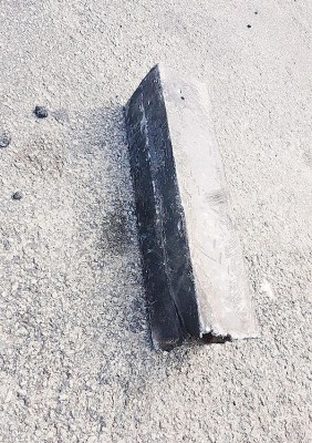大桥公司证实是一片掉落在大桥上的铁片造成多辆车辆轮胎被刺破,排除较早时脸书流传是有人撒铁钉的说法。