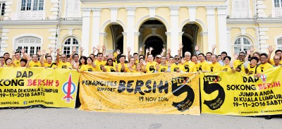 槟州政府与净选盟呼吁更多民众于11月19日前往吉隆坡参加大集会。