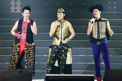 """草蜢演唱会的""""战衣"""",都由蔡一智计划。"""