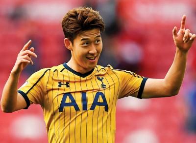 韩国球星孙兴民在热刺踢出了名声与风采。