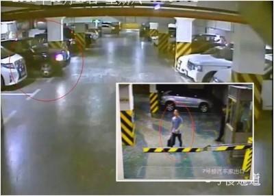 张男(小图)每晚都会在车库偷车出游,但每次偷车后都会为该车加满油,并驶回原处。