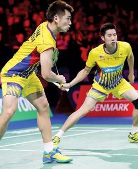 吴蔚昇/陈蔚强将在决赛对抗博汀/尼毕蓬。